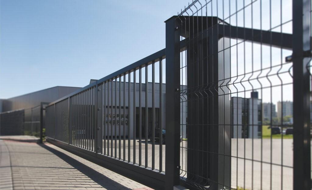 Průmyslová posuvná brána PI Nokov